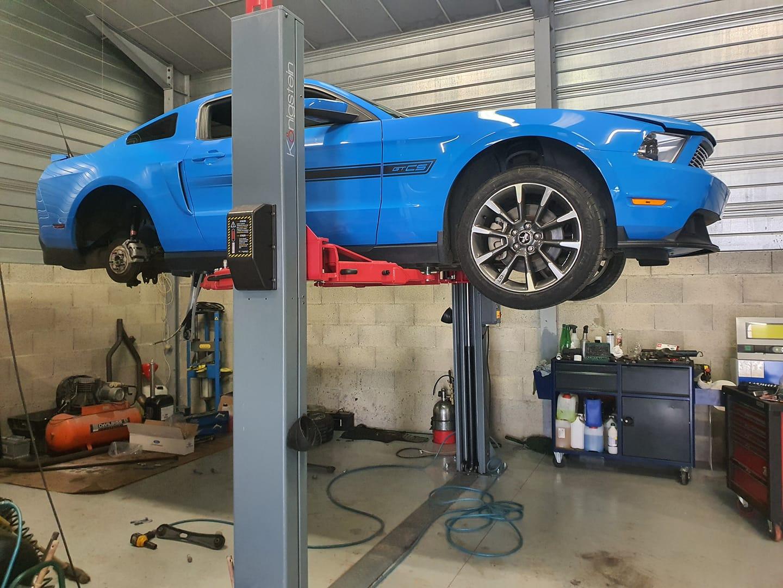 Cure de jeunesse pour Mustang California Spécial 5.0L 2011 chez 69Cars