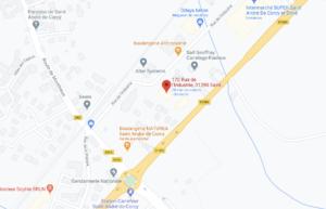 Google Maps 69Cars Saint André de Corcy Lyon